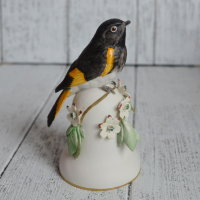 Колокольчик Franklin Mint Peter Barrett AMERICAN REDSTART nfkl-005