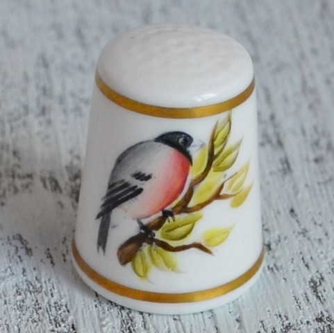 Напёрсток ROYAL WORCESTER HAND PAINTED F.BAKEWELL nfp-0140/2