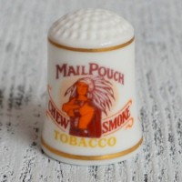 Напёрсток MAIL POUCH TOBACCO FRANKLIN PORCELAIN  nfr-0113
