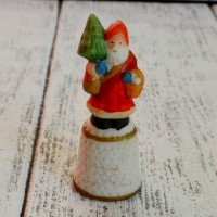 Напёрсток JOHN GROSSMAN  FOR ENESCO OLD WORLD SANTA CLAUS nff-0081