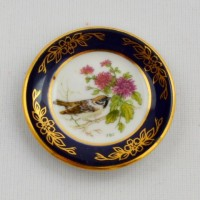 Мини-тарелочка FRANKLIN PORCELAIN BIRD  SPARROW pf-001/1