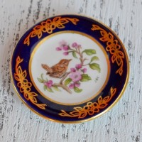 Мини-тарелочка FRANKLIN PORCELAIN BIRD  WREN pf-001/18